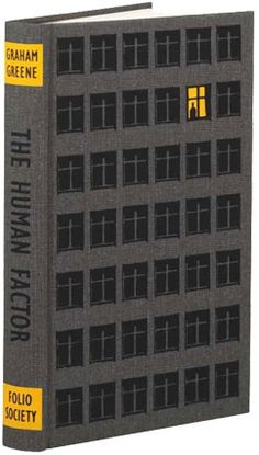 Retro book cover for The Human Factor by BIll Bragg.