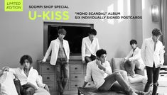 "[Soompi Shop] Autographed U-KISS ""Mono Scandal"" Special Packages!"