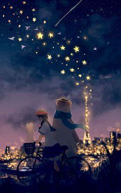 Little Dose of Inspiration — jonn-lock: Floating Star Light. DEVIANTART ...