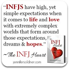 And those expectations always get me hurt. I constantly have to remind myself to chill. Infj Mbti, Enfj, Infj Personality, Myers Briggs Personality Types, Myer Briggs, Infj Type, Evil Twin, Field Guide, Get To Know Me