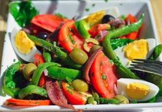 Salad with anchovies — Nicoise # food recipes