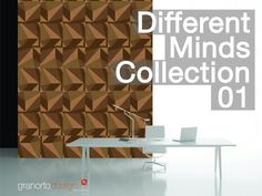 Design cork wall coverings. By Granorte