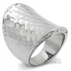 $3.05 - Ladys Stainless Steel High Polish No Stone Ring - Jewelry Wholesale - Wholesalerz.com