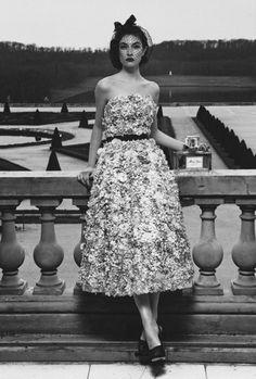 "Jacquelyn Jablonski for ""Dior Couture"" by Patrick Demarchelier."