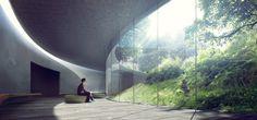 """""""Mindfulness"""" - Jaja & Kengo Kuma.  Model&Render by MIR"""