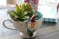 38 Stunning DIY Tea Cup Fairy Garden Ideas - HOOMDESIGN