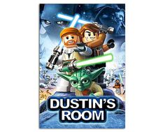 YOUR NAME on Lego Star Wars  POSTER, 13x19 Personalized