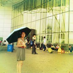 В Чжанцзяцзе у вокзала