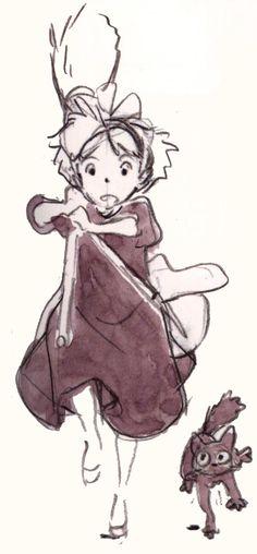 Kiki by Miyazaki