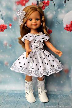 Комплект в горошек для Паолок. / Одежда для кукол / Шопик. Продать купить куклу / Бэйбики. Куклы фото. Одежда для кукол