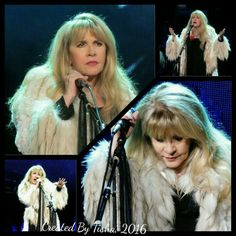 Stevie Nicks 24 Karat Gold Tour, 2016 Collage Created by Tisha 12/03/16