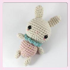 Crocheted Strawberry Bunny