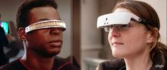 News - More evidence of Trek's sci-fi becoming sci-fact... Yvonne Felix, a legally blind San Franciscan, can see with a device -- a battery-powered headset with liquid lens technology inside -- that resembles the Geordi's VISOR. Read on at...