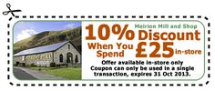 Meirion Mill Discount Coupon Discount Coupons, Promote Your Business, Business Marketing, Wales, Designers, Social Media, Website, Welsh Country, Social Networks