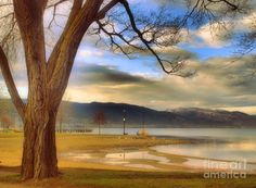 Okanagan Lake, Penticton BC Canada, great picture