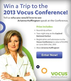 Win a Trip to the 2013 Vocus Conference Contest!