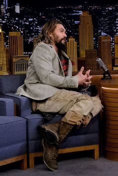 Jason Momoa Played A Game Where He Got Soaking Wet And Jesus Fucking Christ