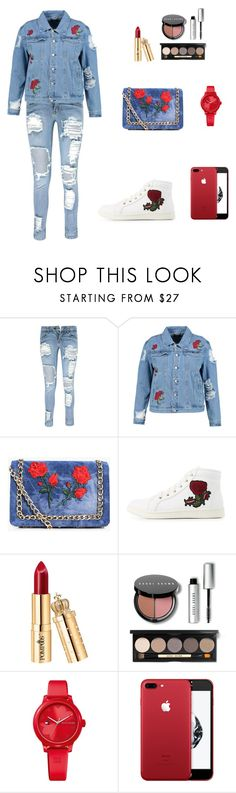 """""""🗼🗼"""" by bonkivybon ❤ liked on Polyvore featuring Boohoo, Bamboo, Bobbi Brown Cosmetics and Tommy Hilfiger"""
