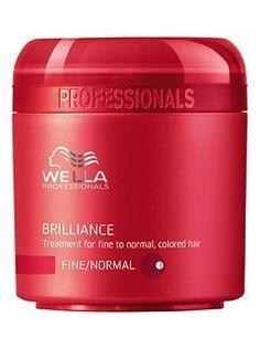 Wella Professionals Care Brilliance Mask - Fine/normal Hair 25 Ml Travel -- You can get more details by clicking on the image.