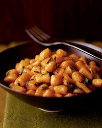Sweet Potato Gnocchi with Apple Cider Sauce Recipe