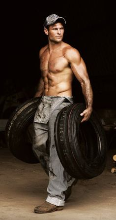 Why doesn't my mechanic look like this?  My guy is about 60, has hair and a beard like Santa Claus, and weighs in about 350 or so...