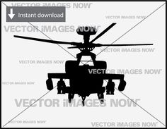 Fighter Helicopter Vector Images Clipart SVG File AI EPS PNG A3