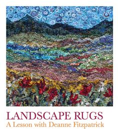Free Rug Hooking Designs | ... tree patterns and all kinds of design ideas for hooking the landscape