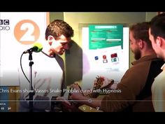 Chris Evans show Vassos Snake Phobias cured with Hypnosis