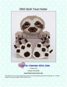 Halloween Jack-O-LanternPumpkin Treat Holder-Plastic Canvas Pattern-PDF Download
