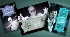 Halloween Office Party Invites, Flyer & Poster