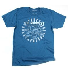 RAYGUN Midwest Map Tee