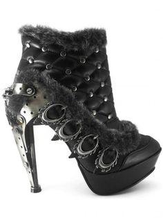 Agnes High Heels by Hades (Black) #InkedShop #InkedMag #Agnes #High #Heel #Black