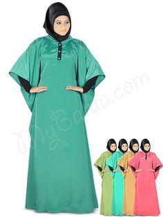 https://flic.kr/p/wNqvDQ | Stylish Muslim Party Wear Misha Kaftan | MyBatua.com | Style No : KF-022 Price : $22.00