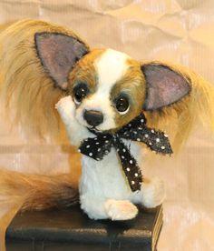 ChihuahuaChici  handgemaakt door Corrie Van Gossum door Cjutiebears, €95.00