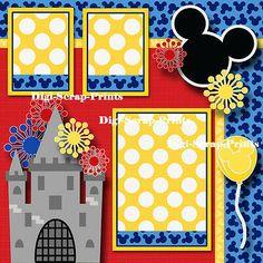 Picture 4 of 4 Album Scrapbook, Scrapbook Background, Disney Scrapbook Pages, Scrapbook Sketches, Scrapbook Page Layouts, Baby Scrapbook, Scrapbook Paper Crafts, Scrapbooking Ideas, Disney Magic