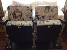 Vintage Cinema Seats (2)
