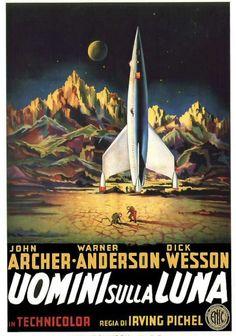 ジョージ・パルの「月世界征服」。どこの国のポスターか、知ってる人、教えて下さい。