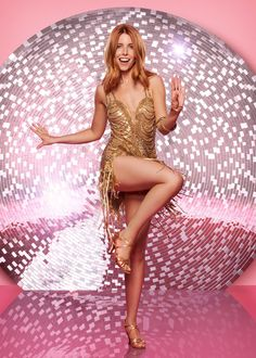 (Image: PA)After filming in high-security prisons and war-torn countries, Stacey Dooley's first TV appearance after Strictly Come Dancing is a decidedly more gl Strictly Come Dancing 2017, Strictly Dancers, Stacy Dooley, Gal Gabot, Red Hair Woman, Female Dancers, Latin Dance Dresses, Girl Dancing, Dancing With The Stars