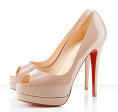 Christian Louboutin nude pumps. I might have to get these while in Milan next month