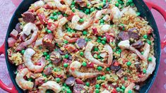 Liven up dinner! Try this one-pot paella with shrimp, chorizo and peas