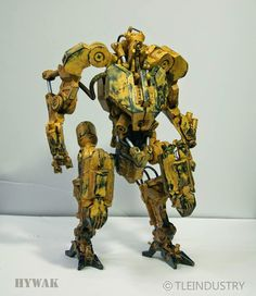 Nuthin' But Mech Site B: HYWAK - aka: Advanced Hydraulic Walker. 1/6 scale Mech Model.