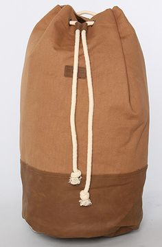 Obey The Noreaster Duffle Backpack in Tobacco Brown : Karmaloop.com - Global Concrete Culture