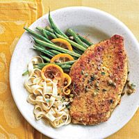 Chicken with capers...perfect quick dinner!