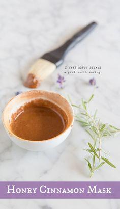 honey cinnamon mask recipe