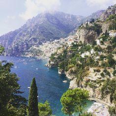 #positano #salerno #sentierodeglidei #amalficoast ##sea #beautiful #travel… Beautiful Places In The World, Most Beautiful, Positano, River, Sea, Pictures, Outdoor, Positano Italy, Photos