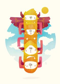 TOTEM by Rafael Mayani, via Behance