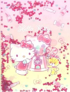 Hello Hello, Hello Kitty, Kitty Wallpaper, Sanrio, Deserts