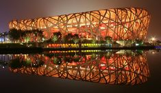 National Stadium (aka 'Bird's Nest'), Beijing