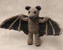 Crochet amigurumi fruit bat pattern