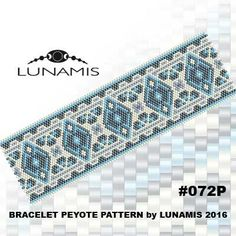 PATTERN ONLY. Create this beautiful peyote cuff bracelet.  Miyuki Delica Beads size 11/0 Odd count with 4 bead colors. 35 bead columns by 91 bead rows. Width: 1.8 (4,7 cm) Length: 6.2 (16 cm)   Patterns include: - Large colored numbered graph paper (and non-numbered in another files) - Bead legend (numbers and names of delica beads colors ) - Word chart - Pattern preview  This pattern is intended for users that have experience with odd count peyote and the pattern itself does NOT include...